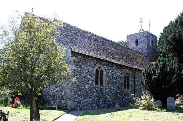 St Peter & St Paul, Temple Ewell, Kent