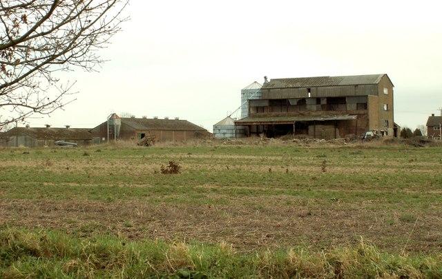 These buildings stand by Oak Farm, near Kenton