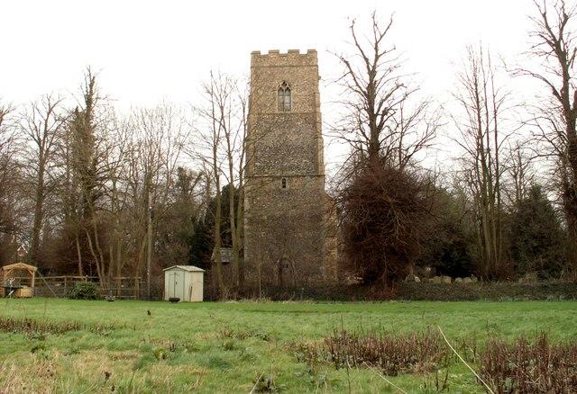 St. Mary's church at Bedingfield