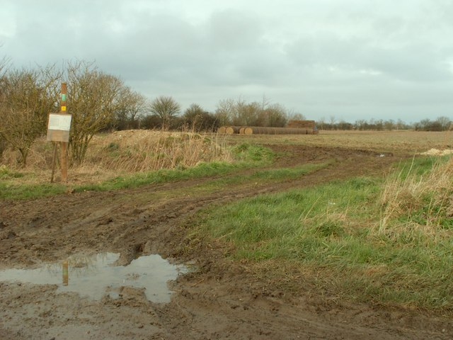 Footpath, close to Southolt
