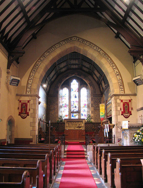 St Peter & St Paul, Luddesdown, Kent - East end
