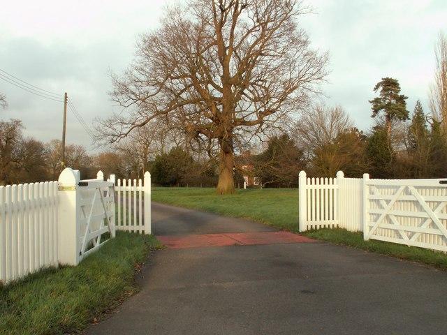 Entrance to Paradise Farm, Worlingworth