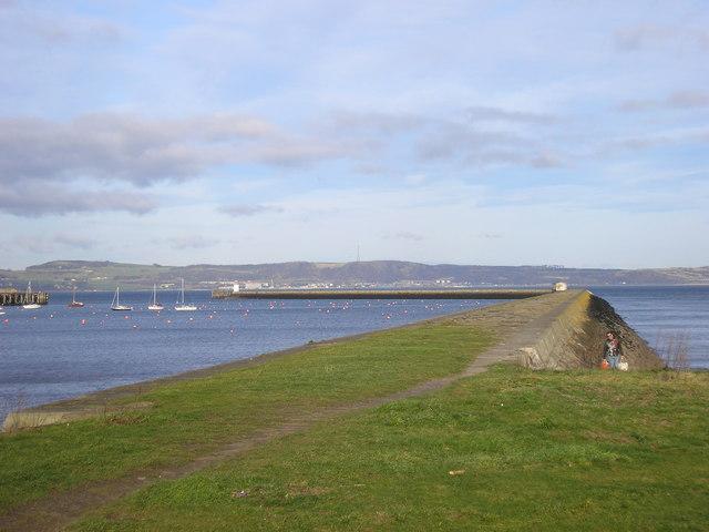 Granton Harbour - the Eastern Breakwater