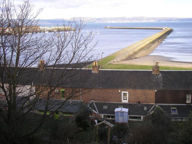 Granton Harbour from Granton Road