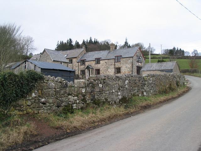 Farmhouse at Craignant