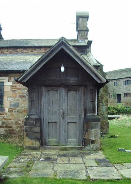 Porch, St Chad's Church, Claughton, Lancaster