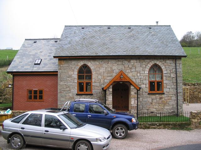 Converted chapel at Craignant