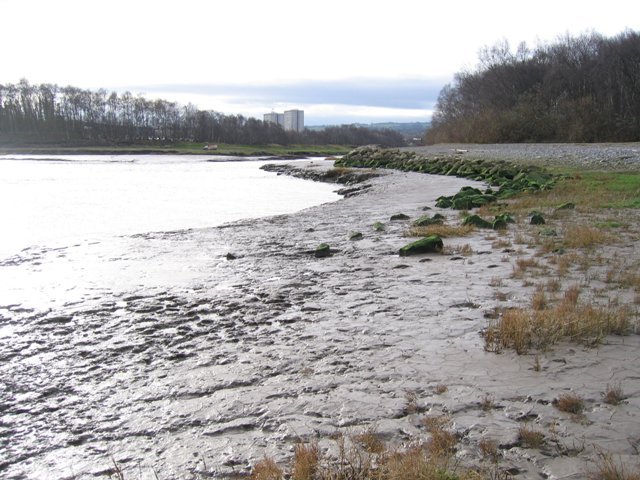 Flint River Channel from the Point.