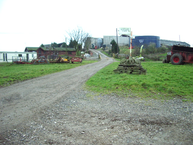 The Road to Old Hall Farm