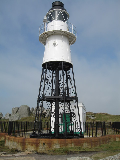 Lighthouse at Peninnis Head, St. Mary's