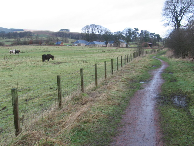 Path towards West Pitgober