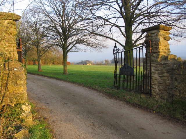 Gates to Peart Farm