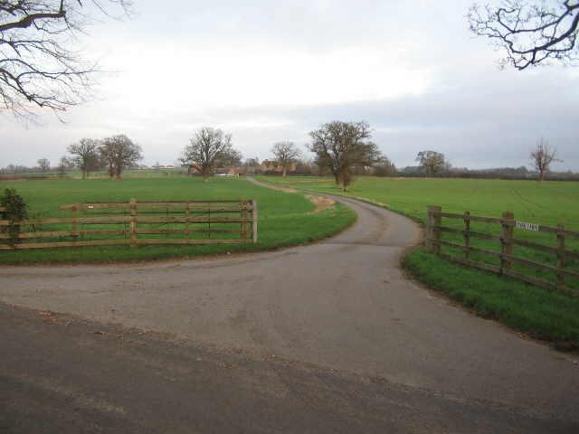 Entrance to Park Farm