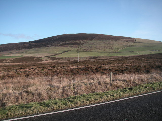 Wideford Hill from the Old Finstown Road