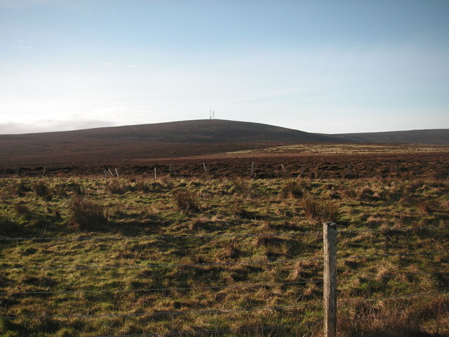 Keelylang Hill from the Old Finstown Road