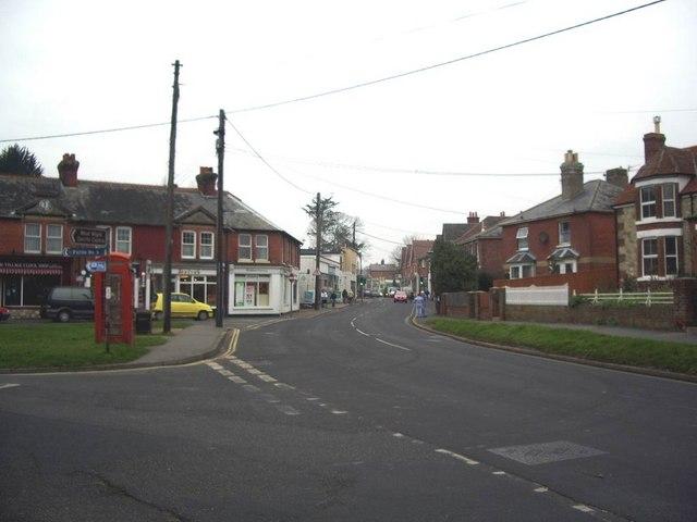 School Green road, Freshwater.