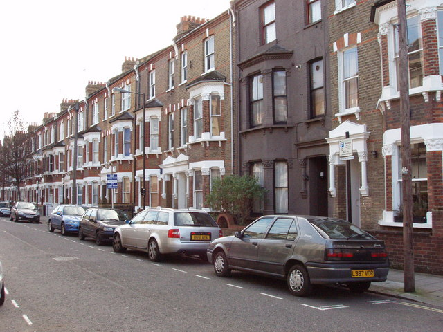 Terrace houses, Hornmead Road