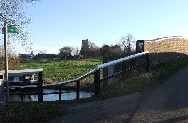 Bridge on  Watery Lane, Marsworth