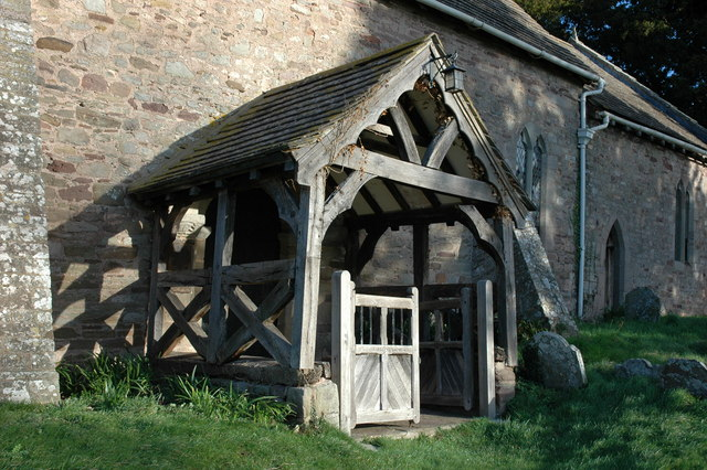 Entrance Porch, Bridge Sollers Church