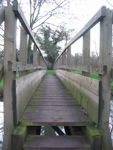 Footbridge over the Mells River #2