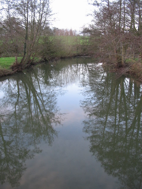 Mells River reflections