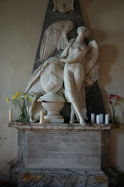 Monument in Kinnersley church