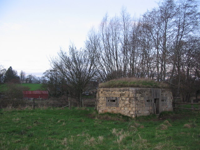 Pillbox at Lullington