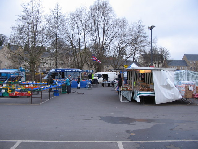 Market day at Frome