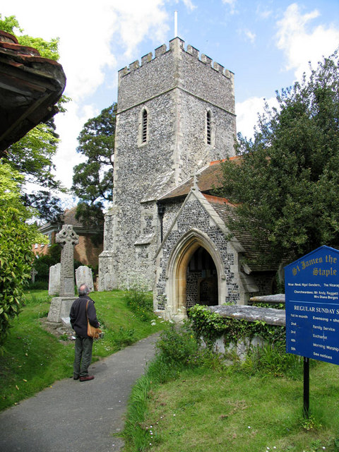 St James the Great, Staple, Kent - Tower