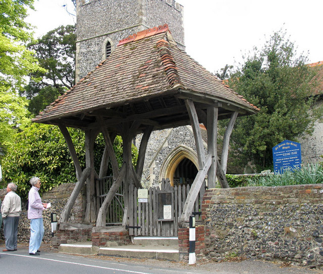 St James the Great, Staple, Kent - Lychgate