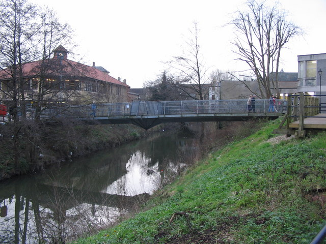 Footbridge over the River Frome