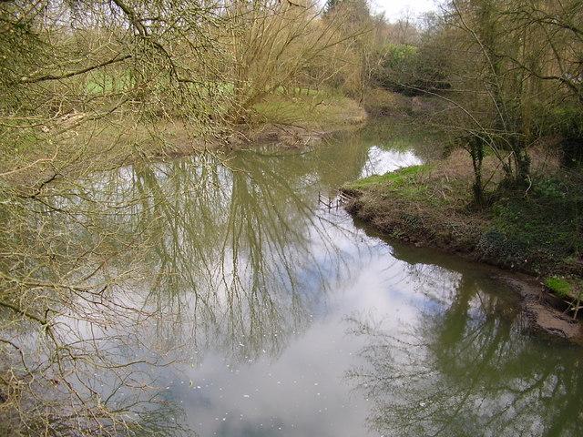 River Mole from Boxhill Bridge