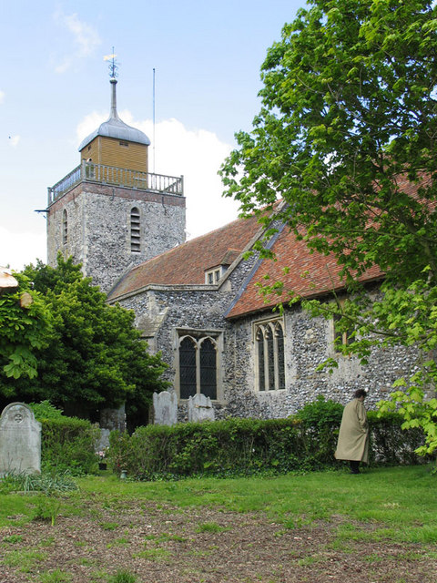 St Mary the Virgin, Woodnesborough, Kent