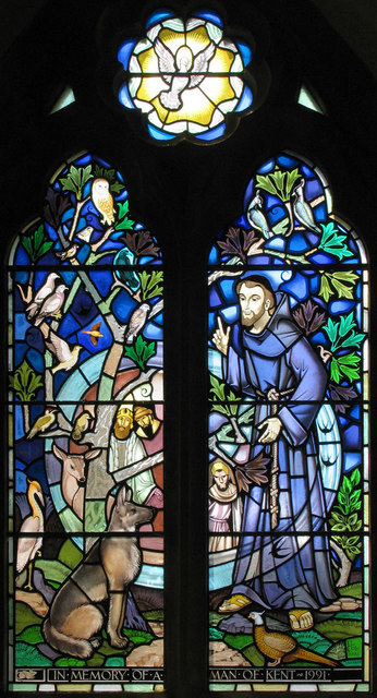St Mary the Virgin, Woodnesborough, Kent - Window