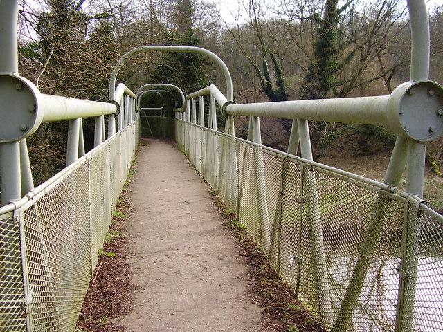 Boxhill Bridge across the River Mole