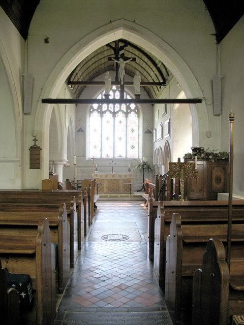 St Peter & St Paul, Eythorne, Kent - East end