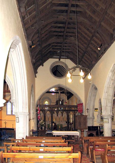 St Martin, Cheriton, Kent - East end