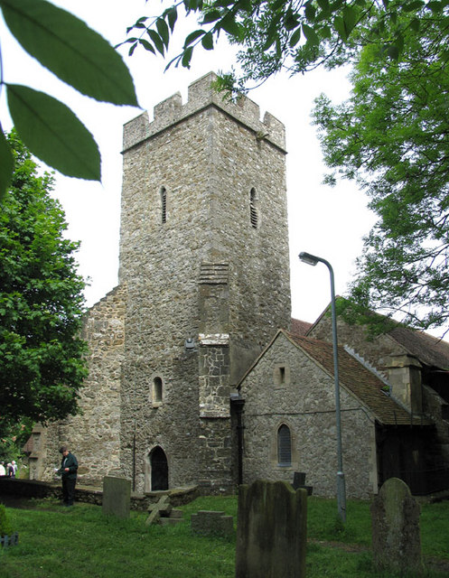 St Martin, Cheriton, Kent - Tower