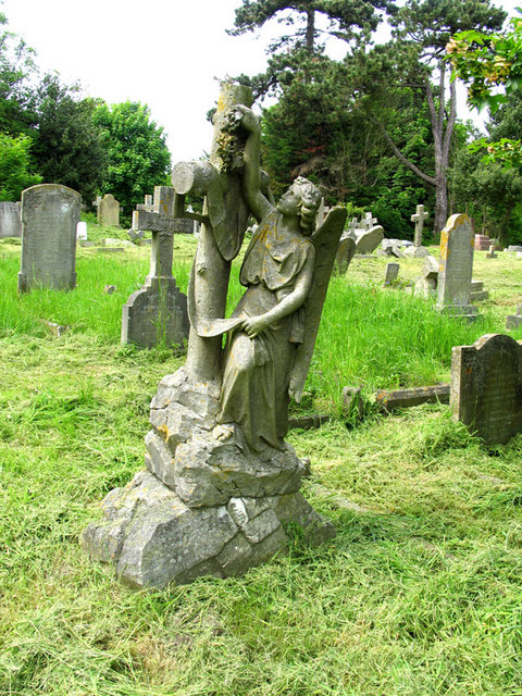 St Martin, Cheriton, Kent - Churchyard