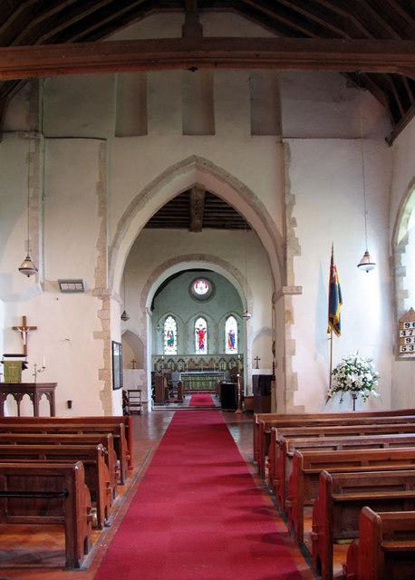 St Stephen, Lympne, Kent - East end