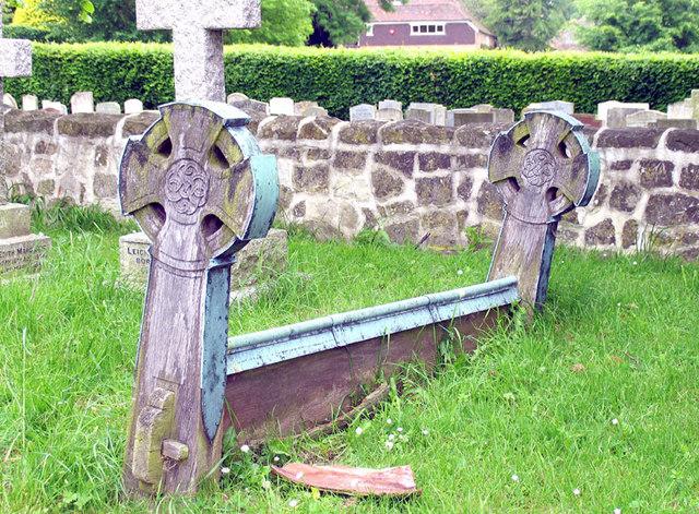St Peter & St Paul, Saltwood, Kent - Churchyard