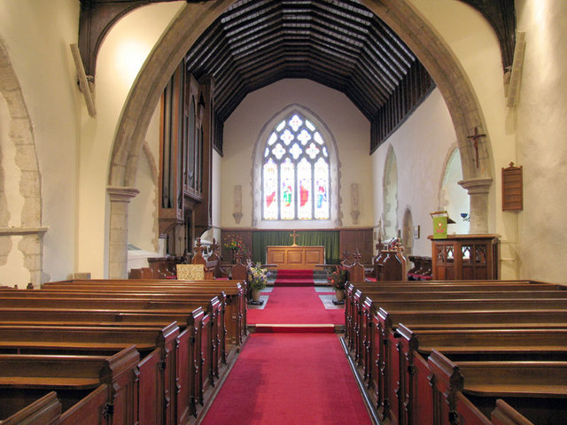 St Peter & St Paul, Saltwood, Kent - East end