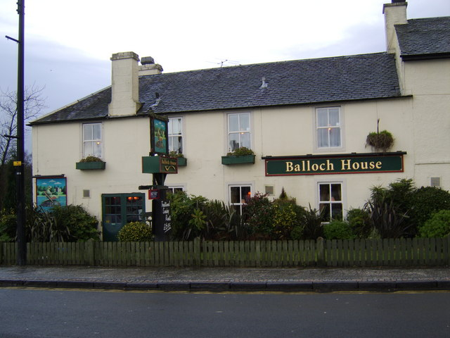 Balloch House hotel and restaurant