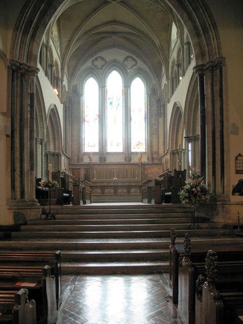 St Leonard, Hythe, Kent - Chancel