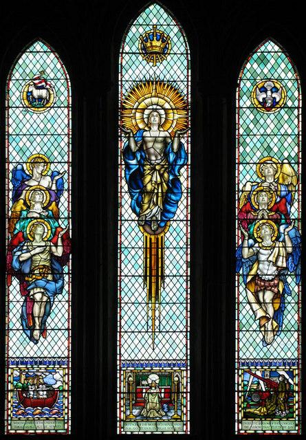 St Leonard, Hythe, Kent - Window