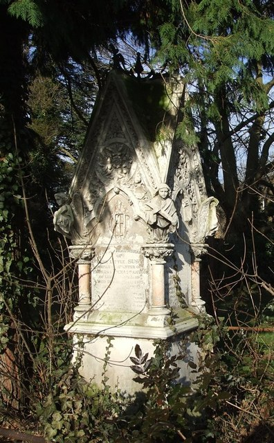 Victorian memorial, St. Leonard's, Heath and Reach