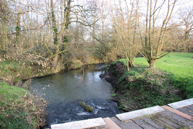 River Medway at Lower Parrock
