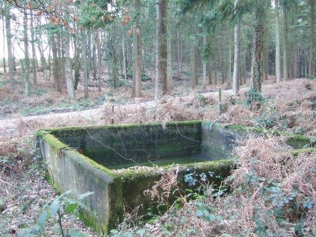 Small Concrete Reservoir
