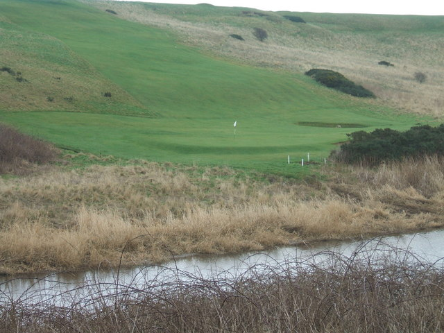 view to Peterhead Golf Course