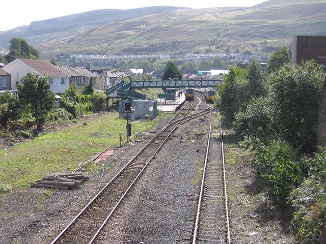 Porth Railway Station